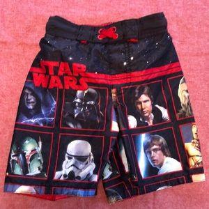 Star Wars swim trunks boys XS 4
